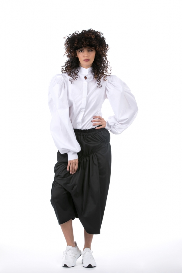 Puff Sleeve Shirt (4)